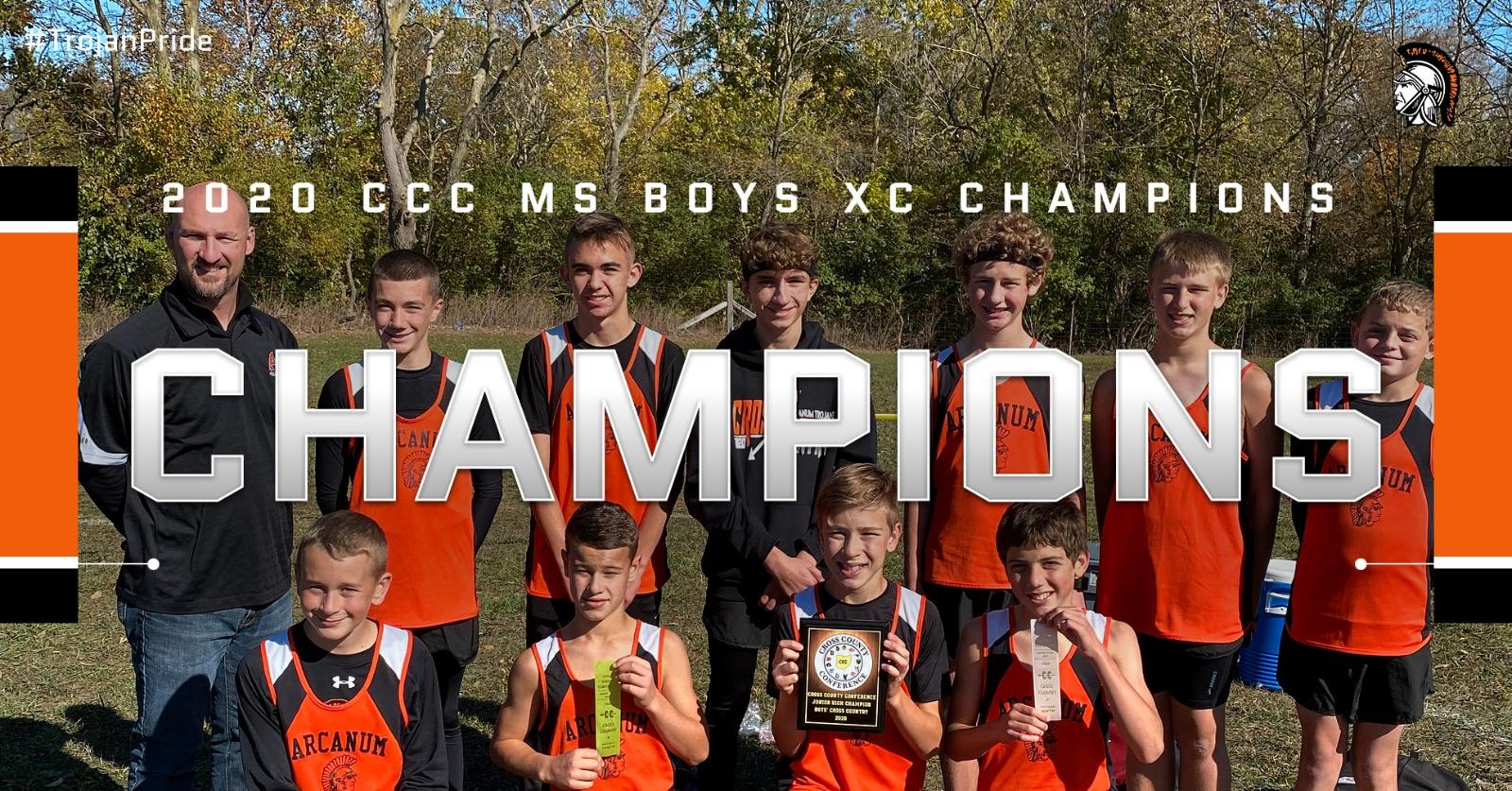 2020 JH Boys XC CCC CHAMPIONS
