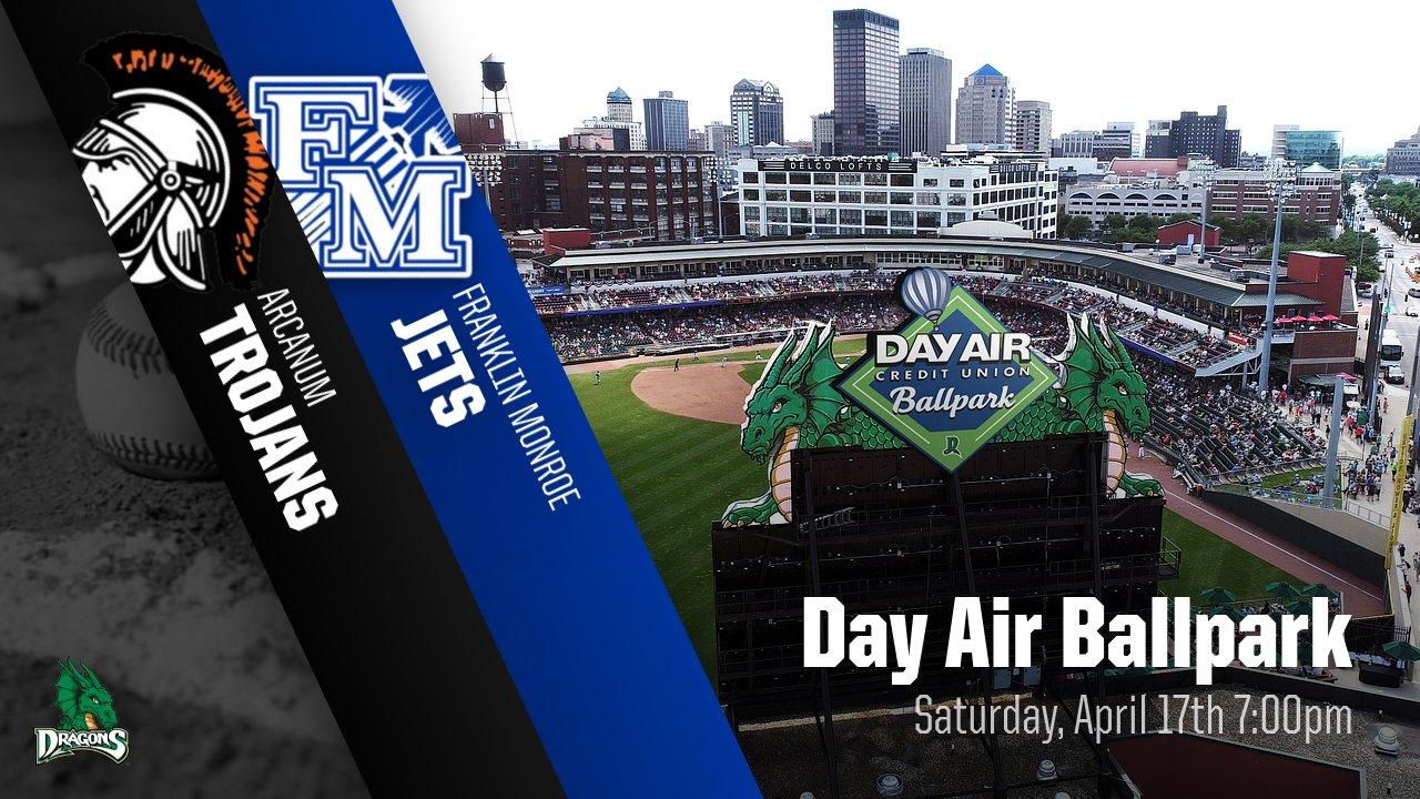 FM v. Arcanum Day Air Ballpark (Dayton Dragons) TICKETS NOW AVAILABLE