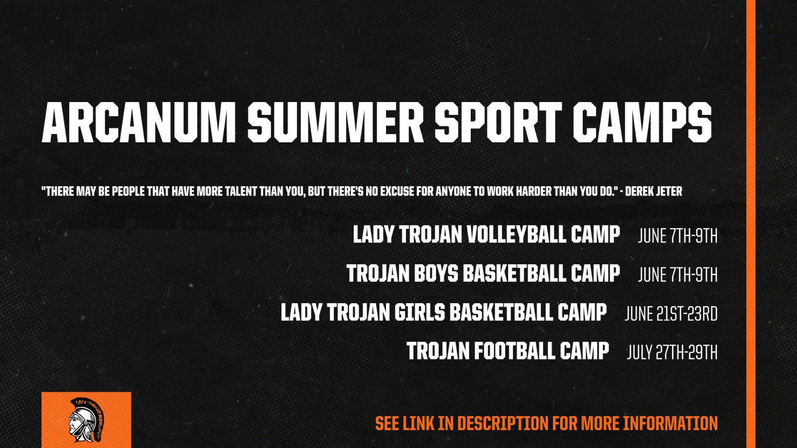 Arcanum Summer Youth Camps