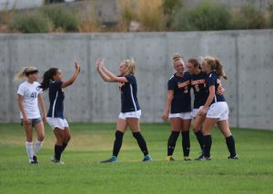 Girls Soccer defeats Olympus, 3-2