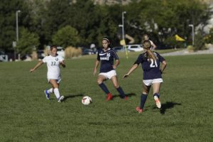 Girls Soccer Freshman. September 18