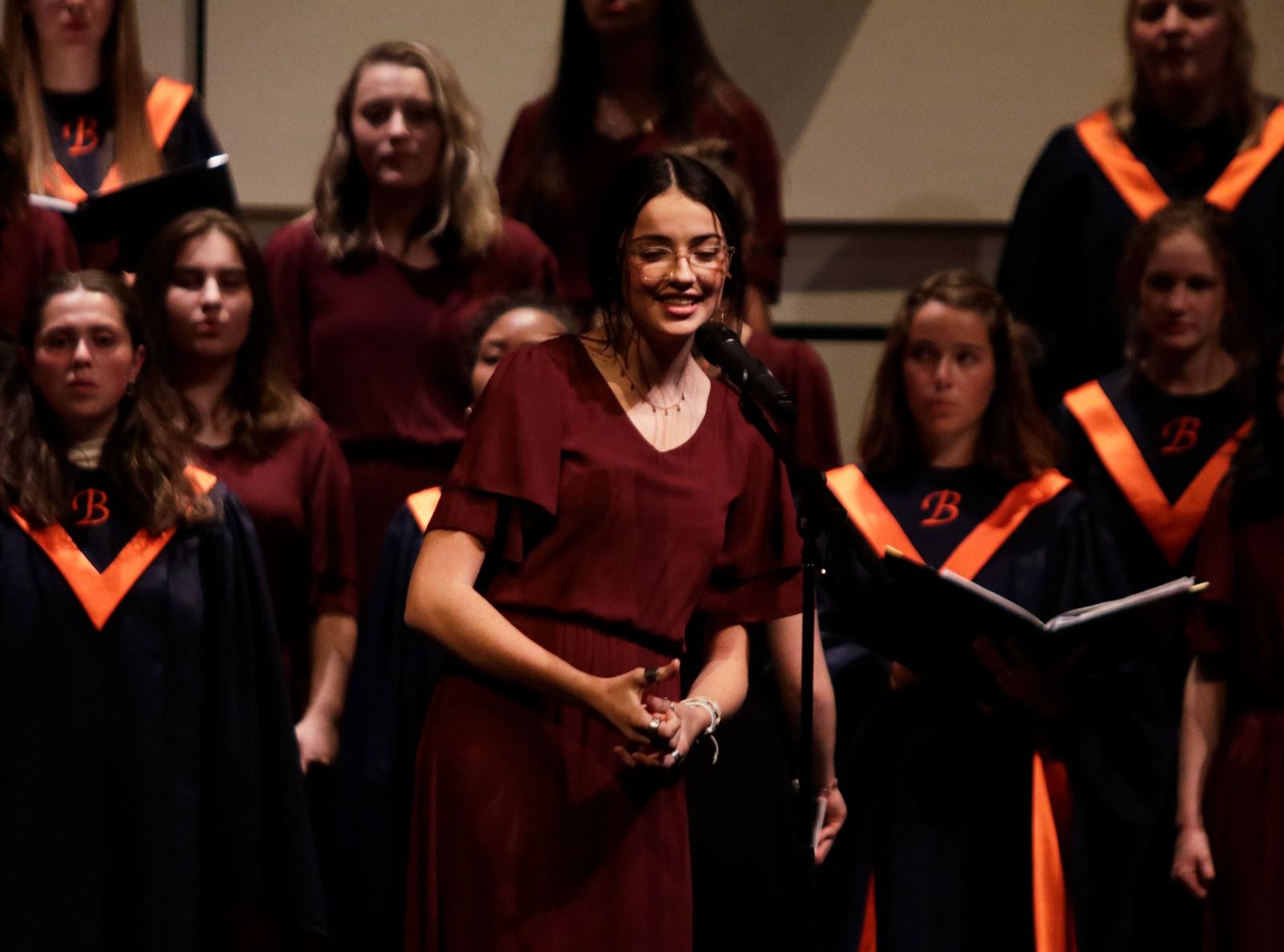 Fall Concert Choir. October 22