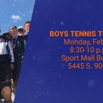 Boys Tennis tryouts are Feb. 24