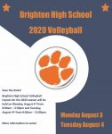 Save the Date: Volleyball tryouts Aug. 3-4