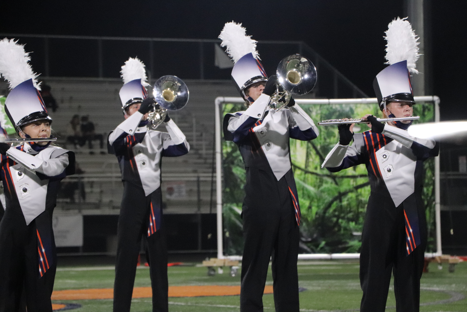 Marching Band stuns crowd with 'Shere Khan'