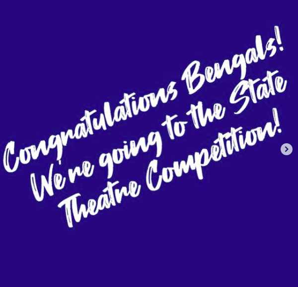 Theatre Region Team makes it to USHAA 5A State Competition