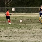 Boys Middle School Soccer falls to MTHEA Crusaders 5 – 2