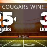 Cougars Defeat Grace Christian 25-3