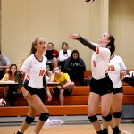 HS Vball: Cougars Roll to 15th Straight Win!