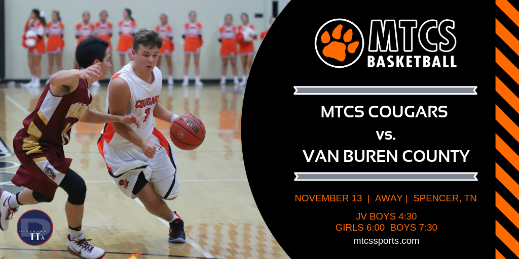 Cougar Basketball Opens the Season at Van Buren County
