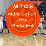 Girls Middle School Basketball falls at Eagleville 40 – 36
