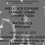 Mid-State Cougar Classic Cheer Competition
