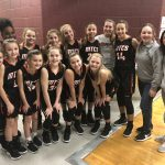 Girls Middle School Basketball tops Westwood 45 – 37