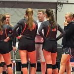 Volleyball Coach Troy Berry Earns 100th Career Win!!