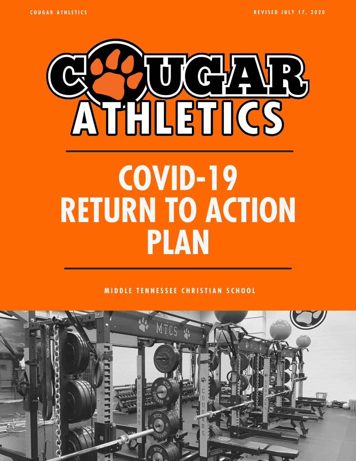 Covid-19 Return to Action Plan