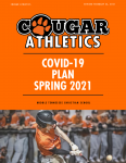 Covid-19 Athletic Plan Spring 2021