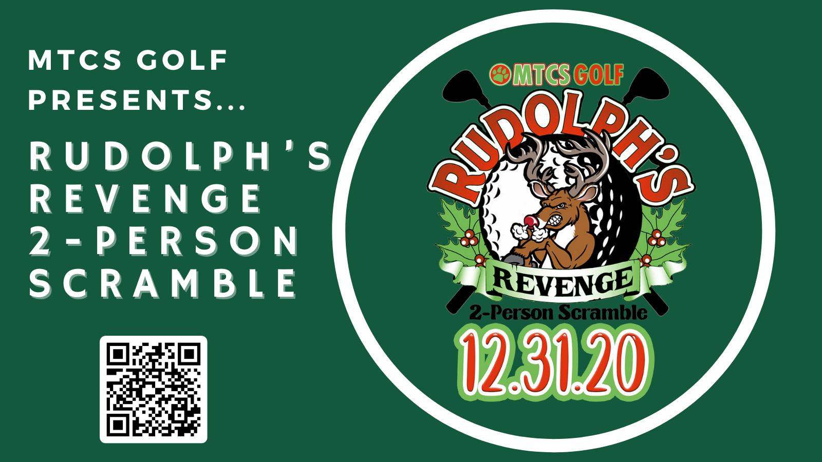 Registration for Rudolph's Revenge Golf Scramble Is Open!!