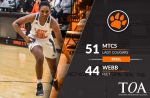 Girls Varsity Basketball beats Webb 51 – 44