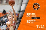 Cougars fall to Webb 70-52