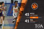 Girls Varsity Basketball beats Franklin Road Academy 45 – 41
