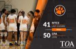Girls Varsity Basketball falls to Christ Presbyterian Academy 50 – 41
