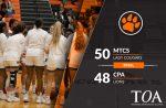 Girls Varsity Basketball beats Christ Presbyterian Academy 50 – 48