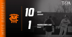 Cougars collect 10-1 win over Morristown East