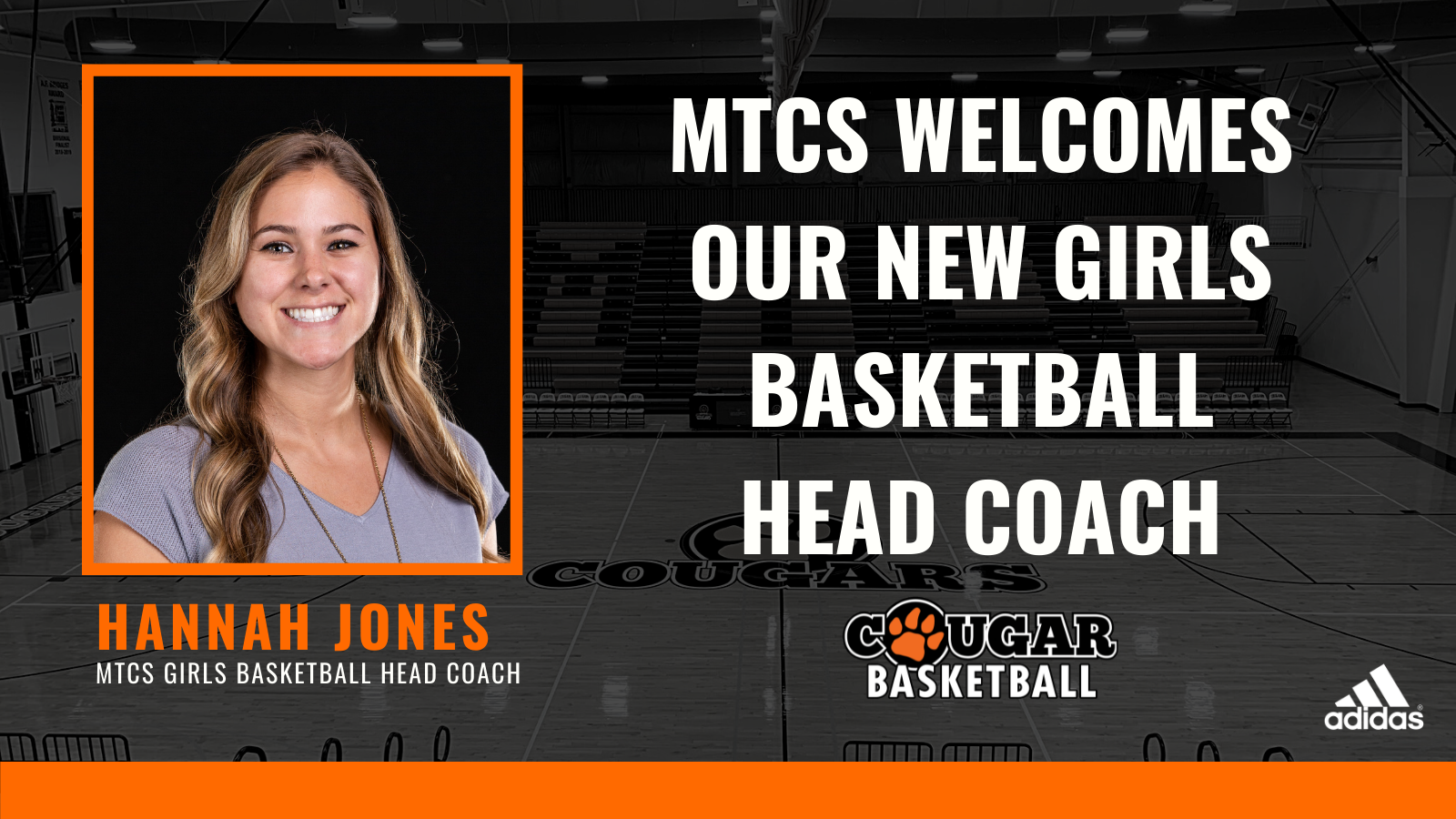 MTCS Names Hannah Jones New Girls Basketball Coach