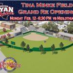 Tina Minke Field Renovation