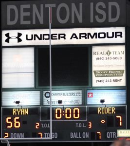 Football : Denton Ryan vs WF Rider