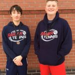 Varsity Tennis:  Boys Doubles Wins Consolation