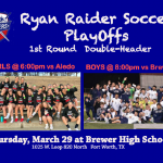 Girls and Boys Soccer: Bi-District Playoff Matches Set