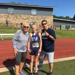 Claire Petersen sets new course record