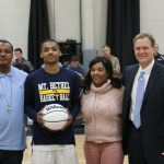 Jaquez Gilbert Honored for reaching 1,000 career points!