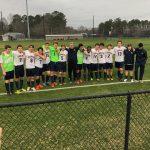 Varsity Boys Soccer Wins First Match!!!