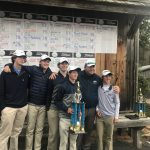 Boys Varsity Golf out played 31 GHSA School to Win the Warrior High School Invitational