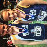 Girls Middle School Cross Country finishes 3rd place at Cherokee Classic