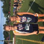 Girls Middle School Cross Country finishes 5th place at Whitefield Time Trials