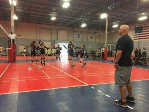 MS A VB, SVC Tournament, 9/22