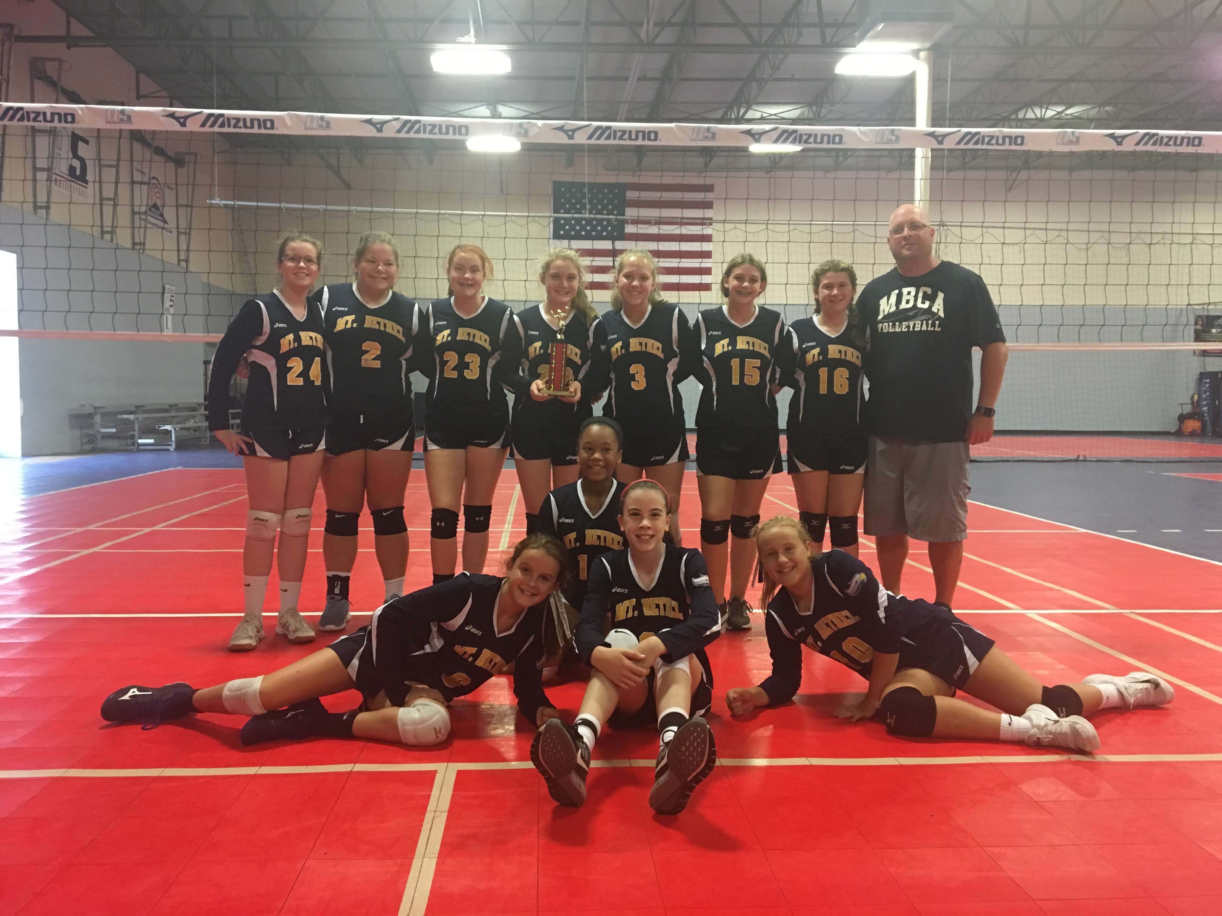 MS A VB Wins Siver Bracket at SVC