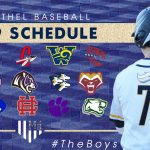 2019 Varsity Baseball Schedule Announced
