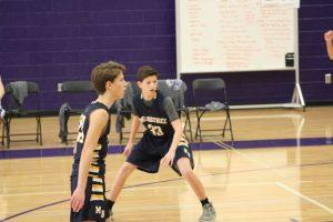 MBCA A Boys MS Basketball @ Kings Ridge, 1/24/19
