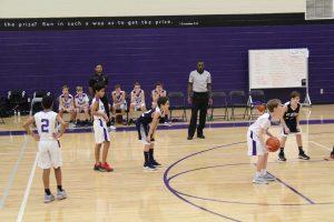 B Boys Basketball, 1/24/19 @ Kings Ridge