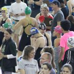 Varsity Girls State Swim - Day 1