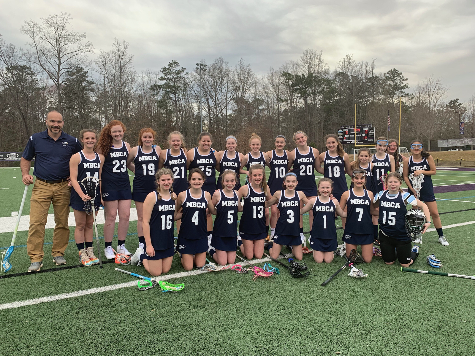Another Historical Moment as MS Girls Lacrosse Plays First Game For MBCA