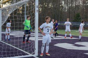 Varsity Boys Soccer vs. King's Ridge 3/15/19