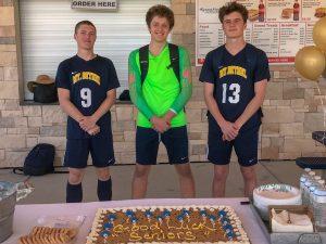 Varsity Boys Soccer vs Whitefield – Senior Day