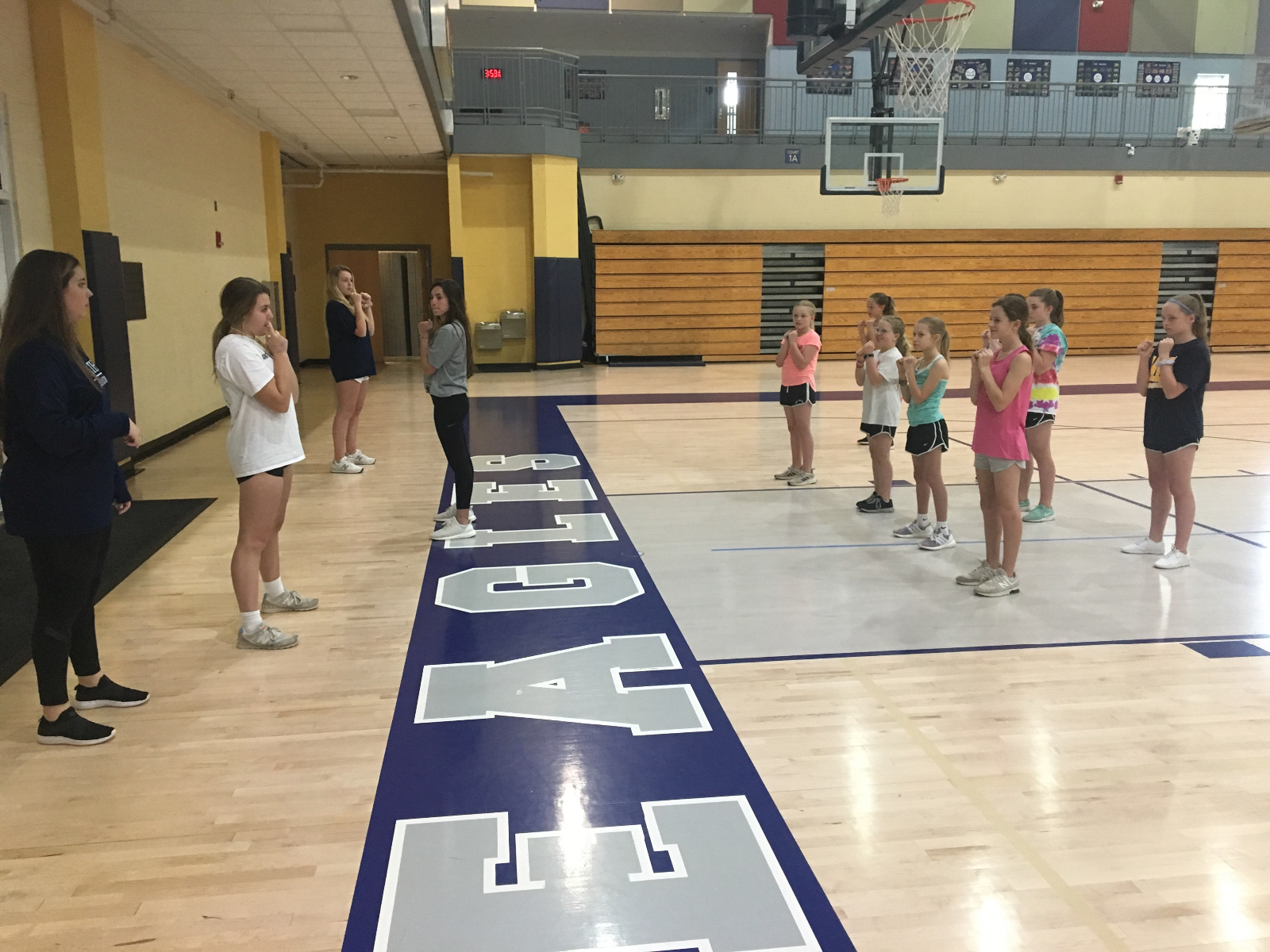 MS Cheer Tryouts Underway