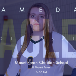 GAME DAY: @ Mount Paran Christian School