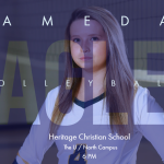 GAME DAY: HERITAGE CHRISTIAN SCHOOL
